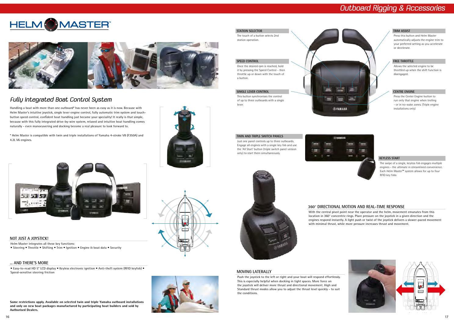 Yamaha marine accessories catalogue web by René Olsen - issuu