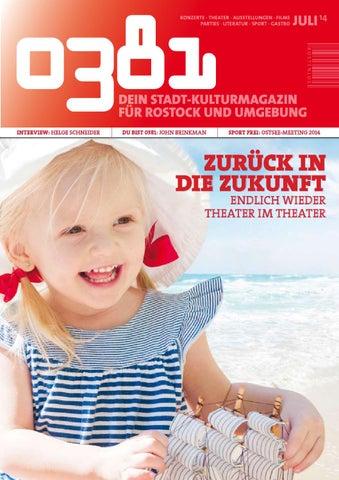 0381 - Dein StadtKulturmagazin für Rostock und Umgebung Juli