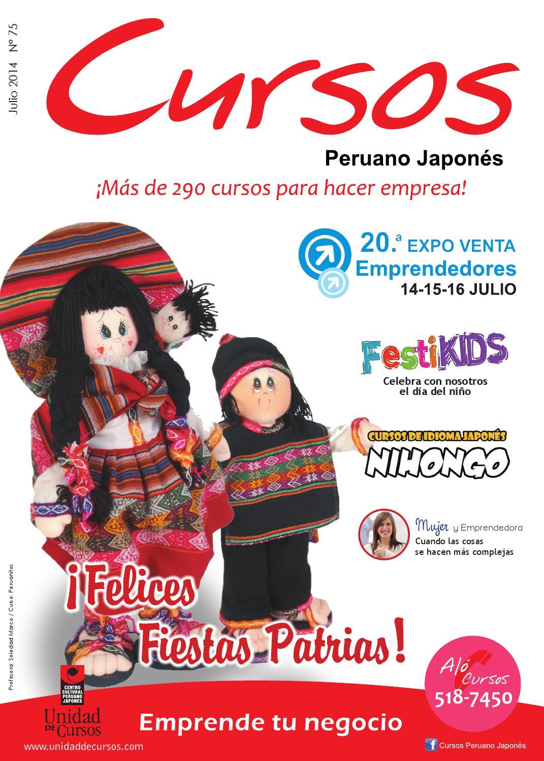 Revista Cursos Julio 14 by Unidad de Cursos - issuu