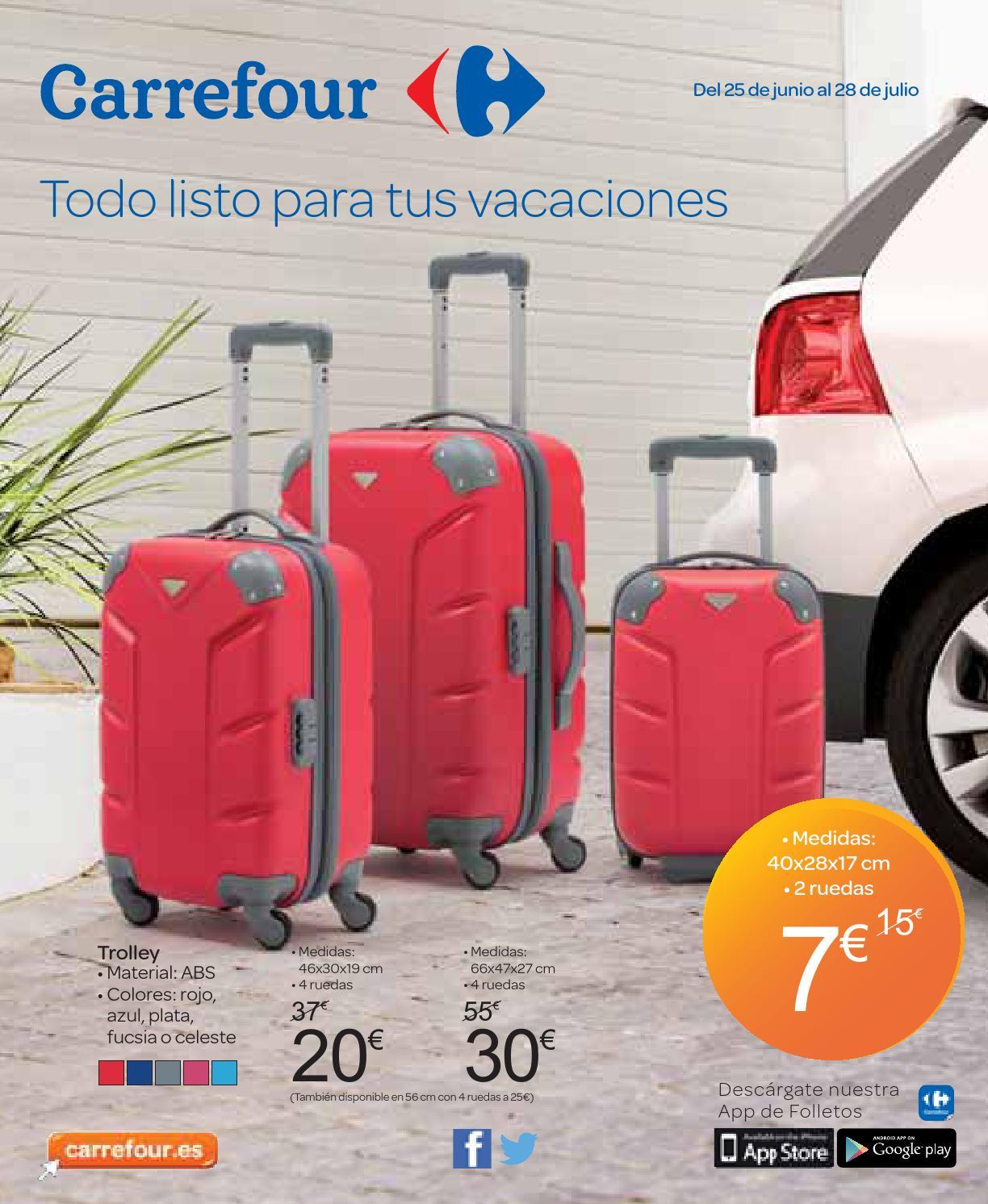 Catalogo carrefour vacaciones by carrefour online issuu - Maleta viaje carrefour ...