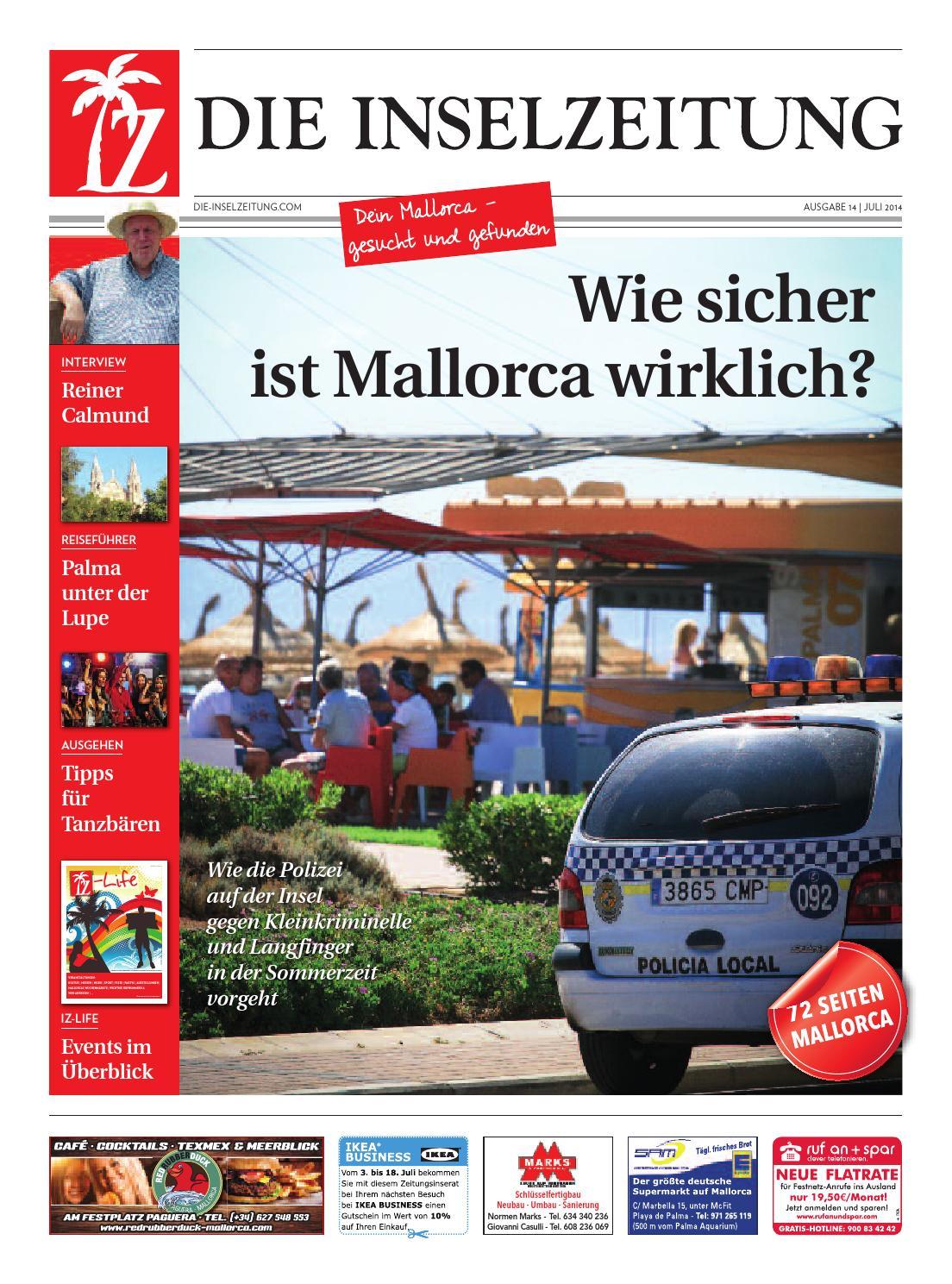 Die inselzeitung mallorca juli 2014 by Die Inselzeitung Mallorca ...