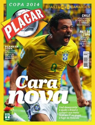 Revista Placar - Pós jogo 3 - Copa 2014 by Revista Placar - issuu dafcb843cce01