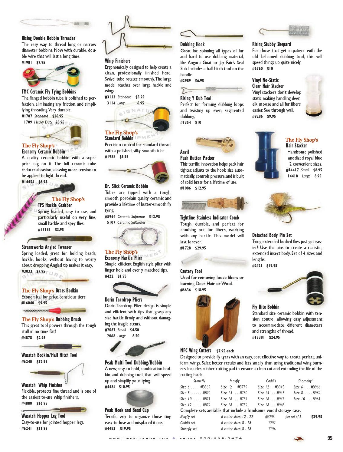 Dubbing Fly Tying Materials Extended Whip Finisher