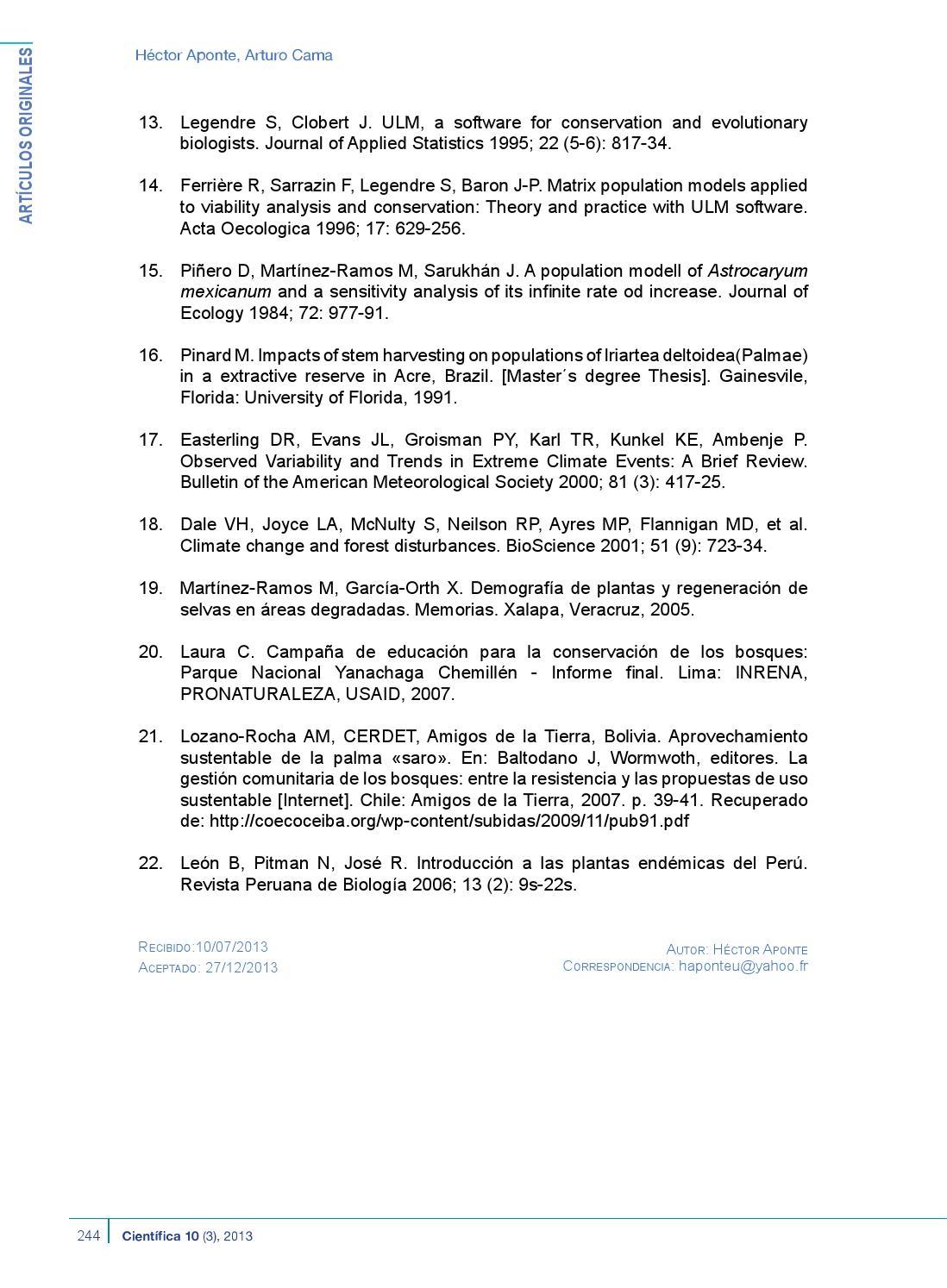 Revista CIENTÍFICA Vol 10 N ° 3 by Universidad Científica del Sur