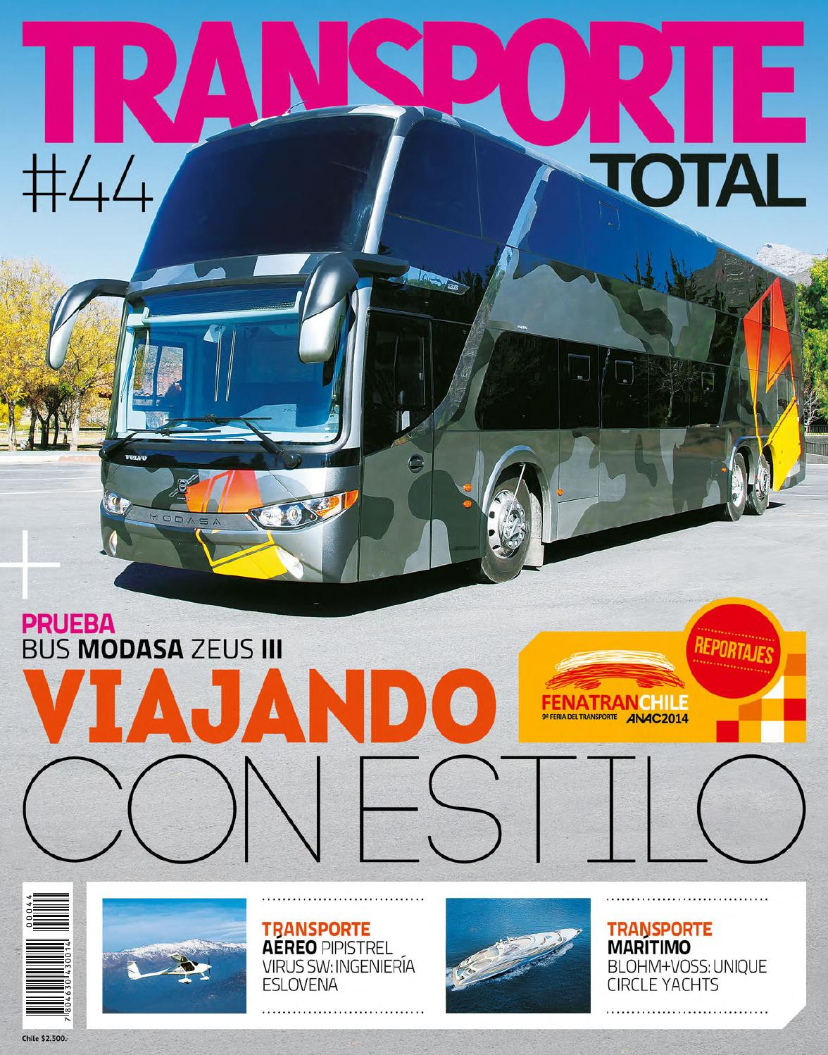 Transporte Total de Chile (N°44 Junio 2014-Completa) by RS Chile - issuu