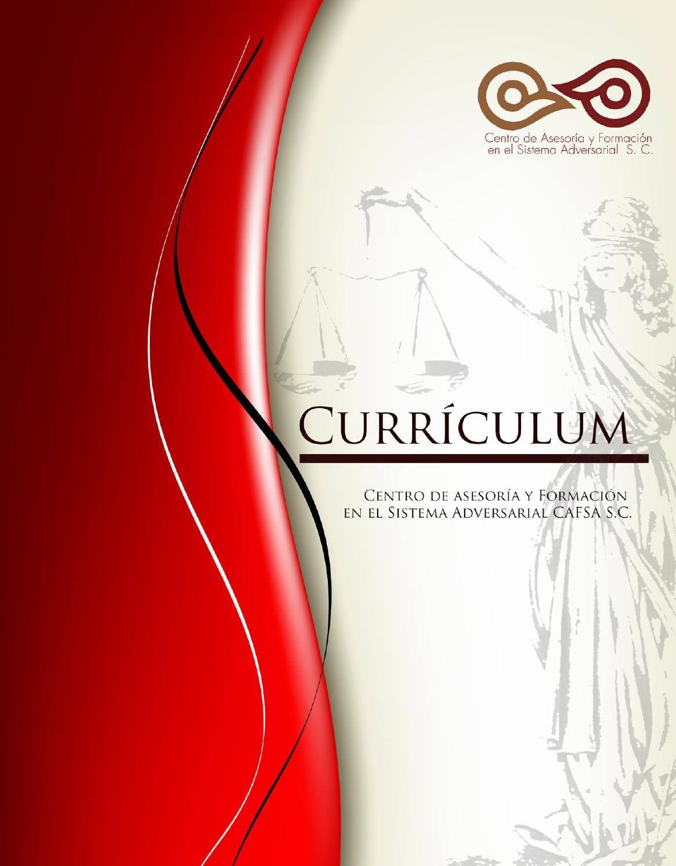 Curriculum cafsa 2014 by Fabio Valdés Bensasson - issuu