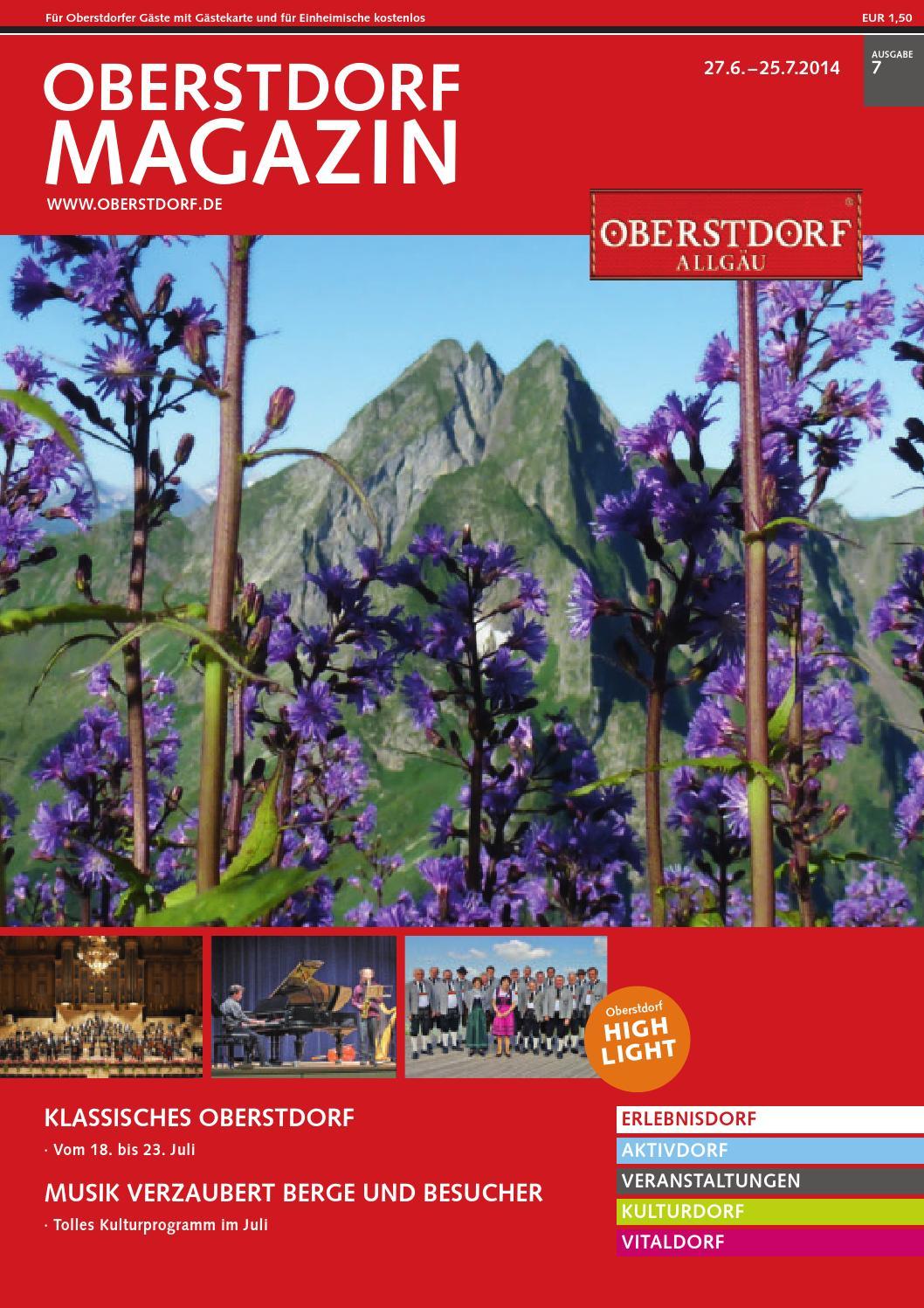 Magazin 7/2014 by Tourismus Oberstdorf - issuu