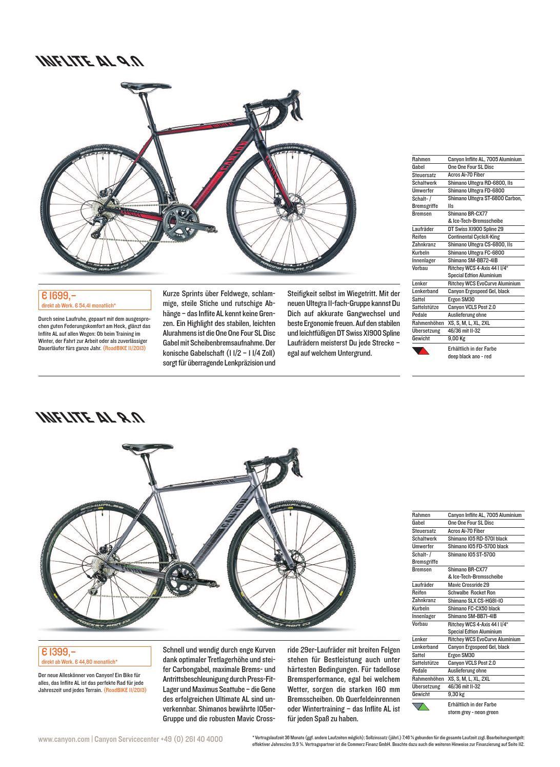 canyon rennrad katalog 2014 by canyon bicycles gmbh issuu. Black Bedroom Furniture Sets. Home Design Ideas