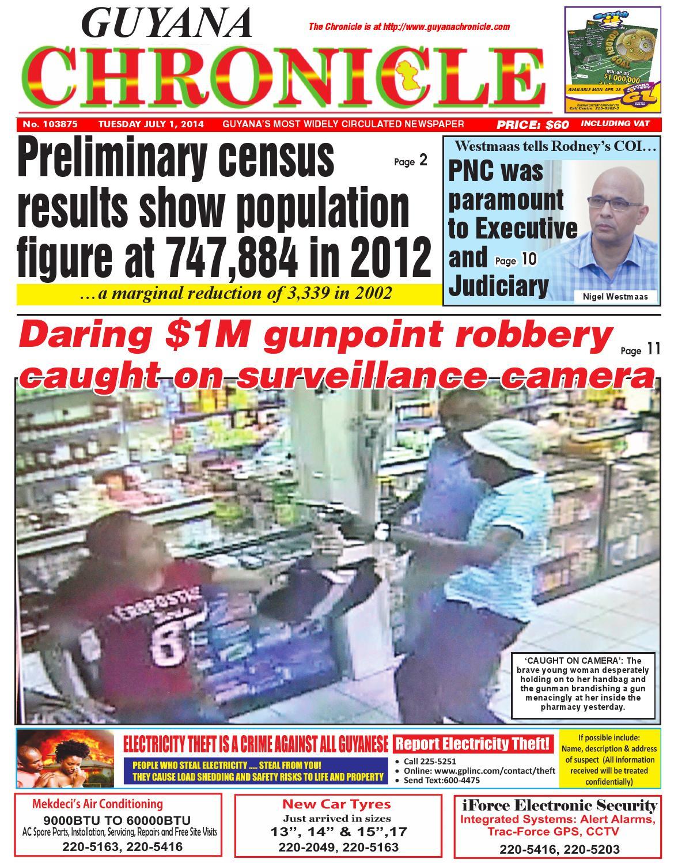 Guyana chronicle 01 07...