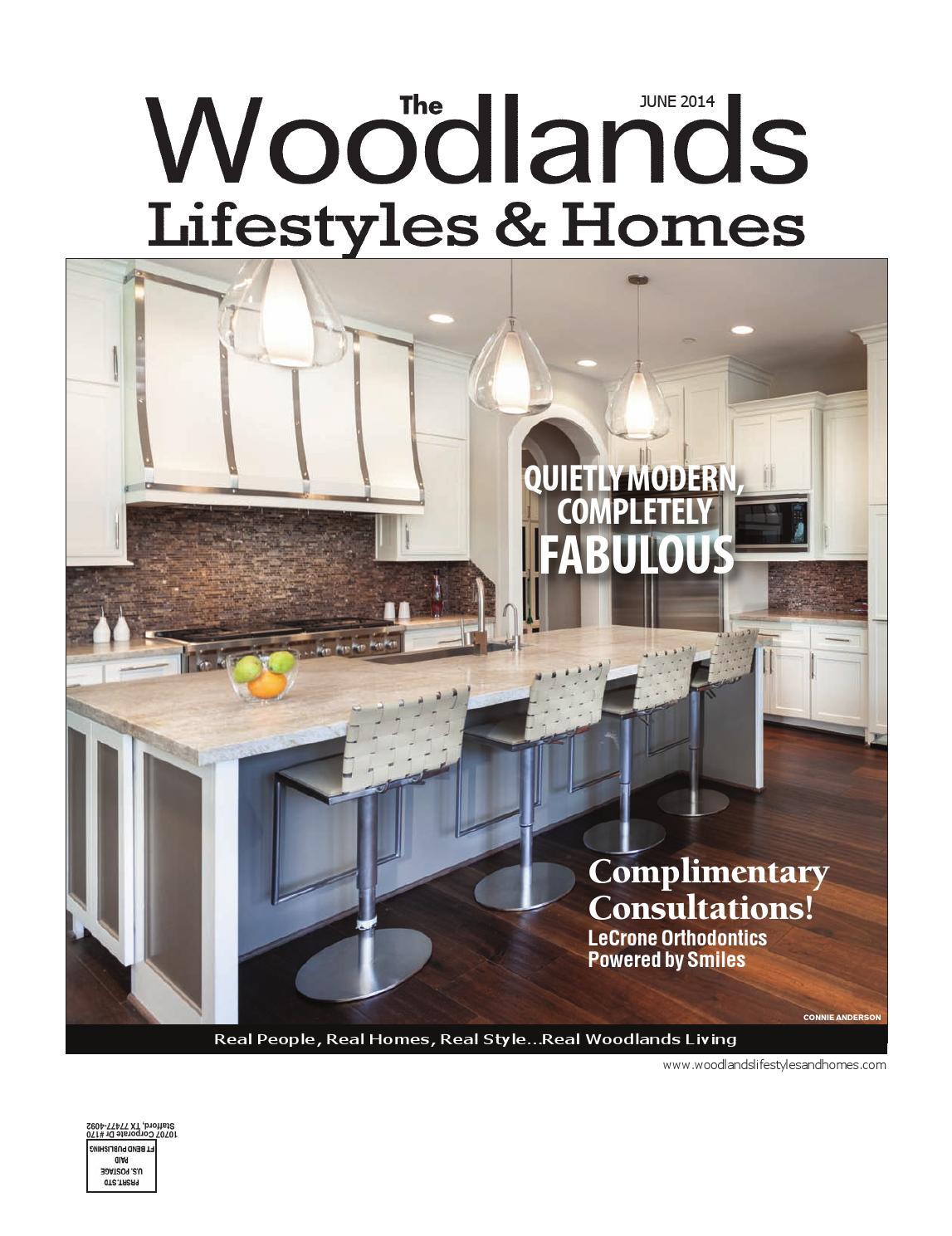 The Woodlands Lifestyles Homes June 2014 By Lifestyles Homes