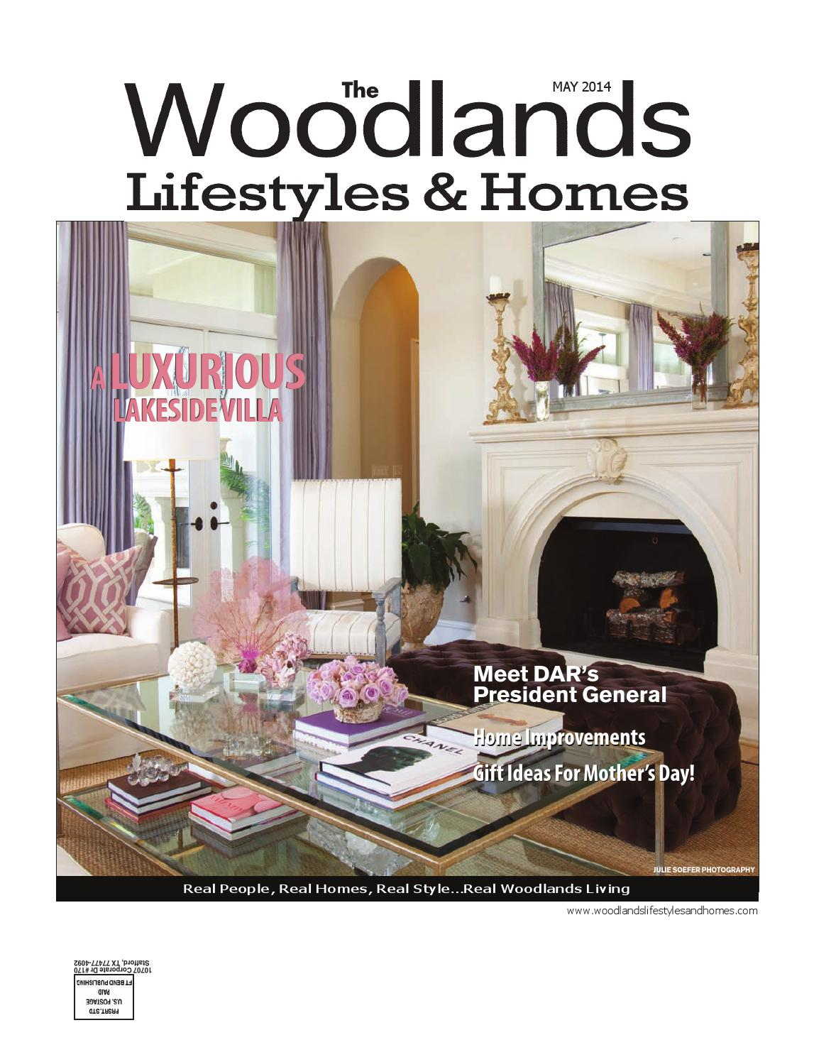 The Woodlands Lifestyles & Homes May 2014 by Lifestyles