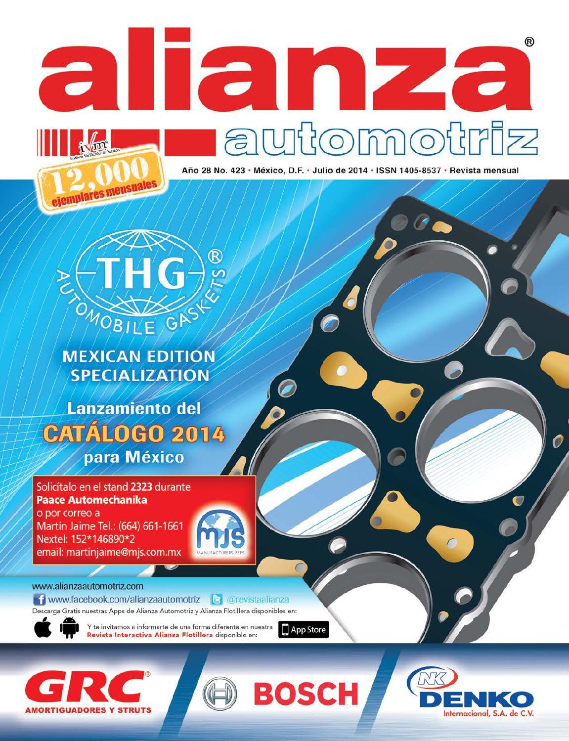 Alianza Automotriz Junio 2016 Edición 446 by Alianza Editores - issuu