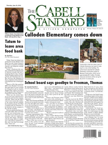 The Cabell Standard, June 26, 2014 by PC Newspapers - issuu