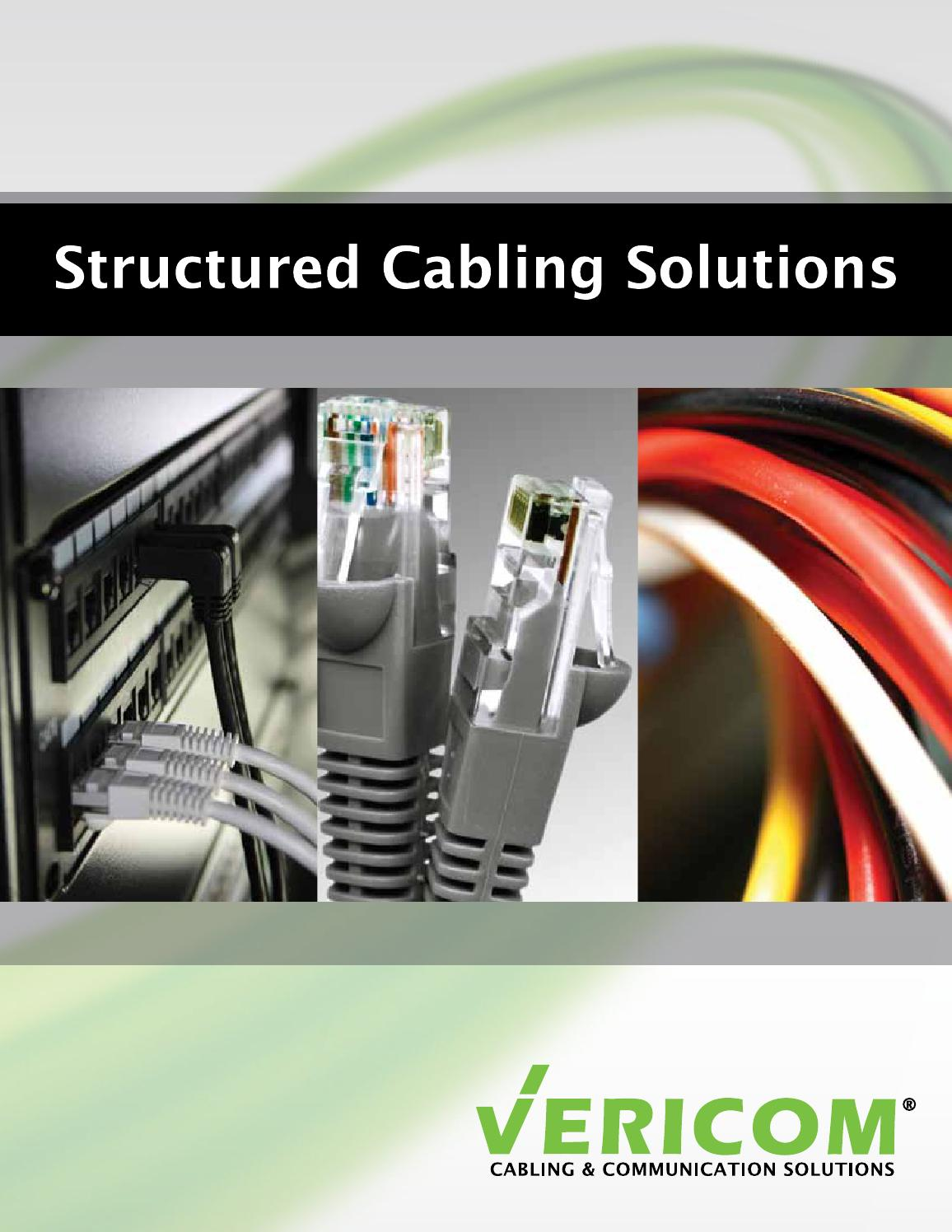 Vericom Global Solutions Structured Cabling Catalog By Cables Cat5e Gray Ethernet Patch Cable Snagless Molded Boot 75 Foot Issuu