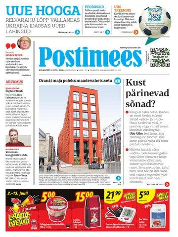 89defa1e456 Postimehe paberleht 24 05 2014 by Postimees - issuu