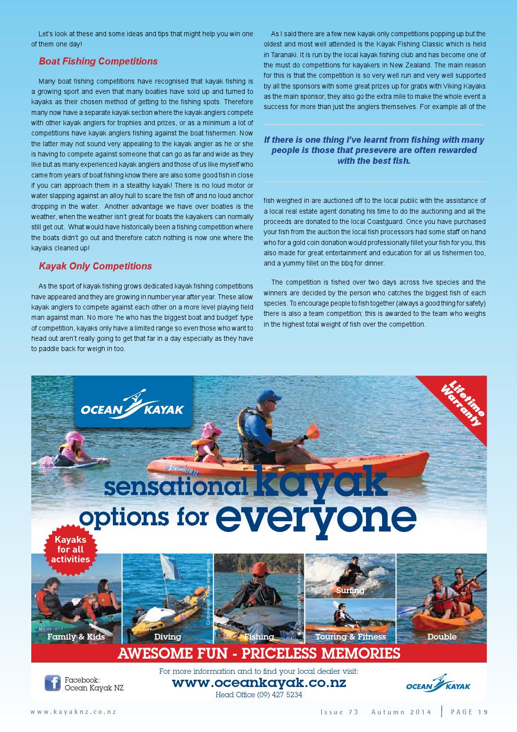 Issue 73 Final Web By Canoe Kayak Issuu