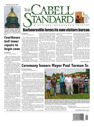 The Cabell Standard June 19, 2014 by PC Newspapers - issuu