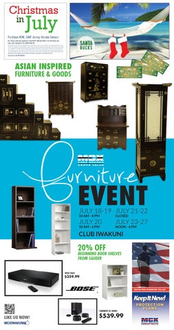 Delicieux MCX Furniture Sale By MCCS Iwakuni   Issuu