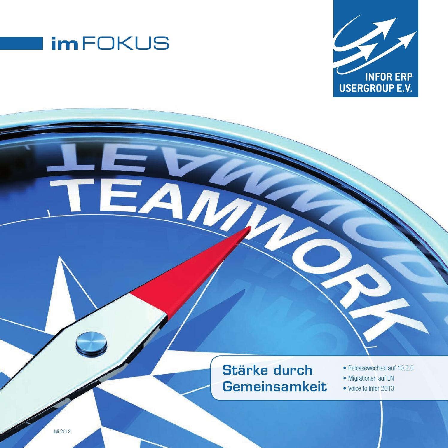 Iug mitgliederzeitung 2013 web by Infor ERP Usergroup e.V. - issuu