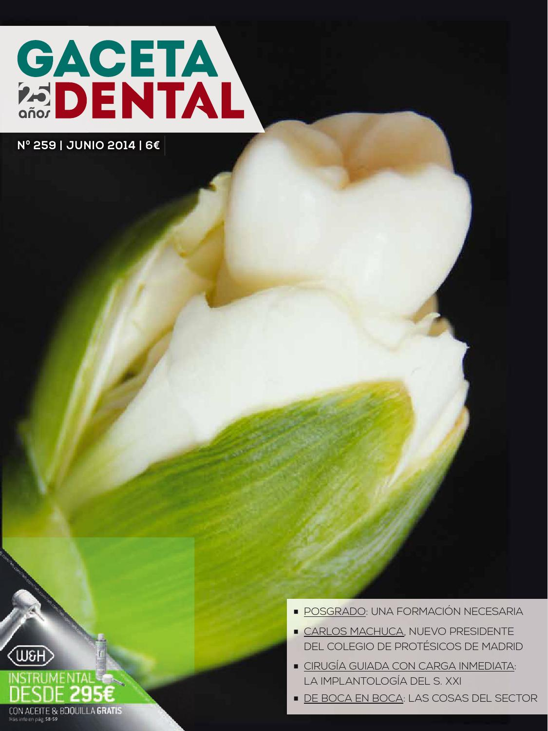 Gaceta Dental - 259 by Peldaño - issuu