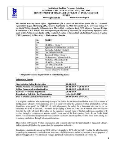 ibps bank challan form download