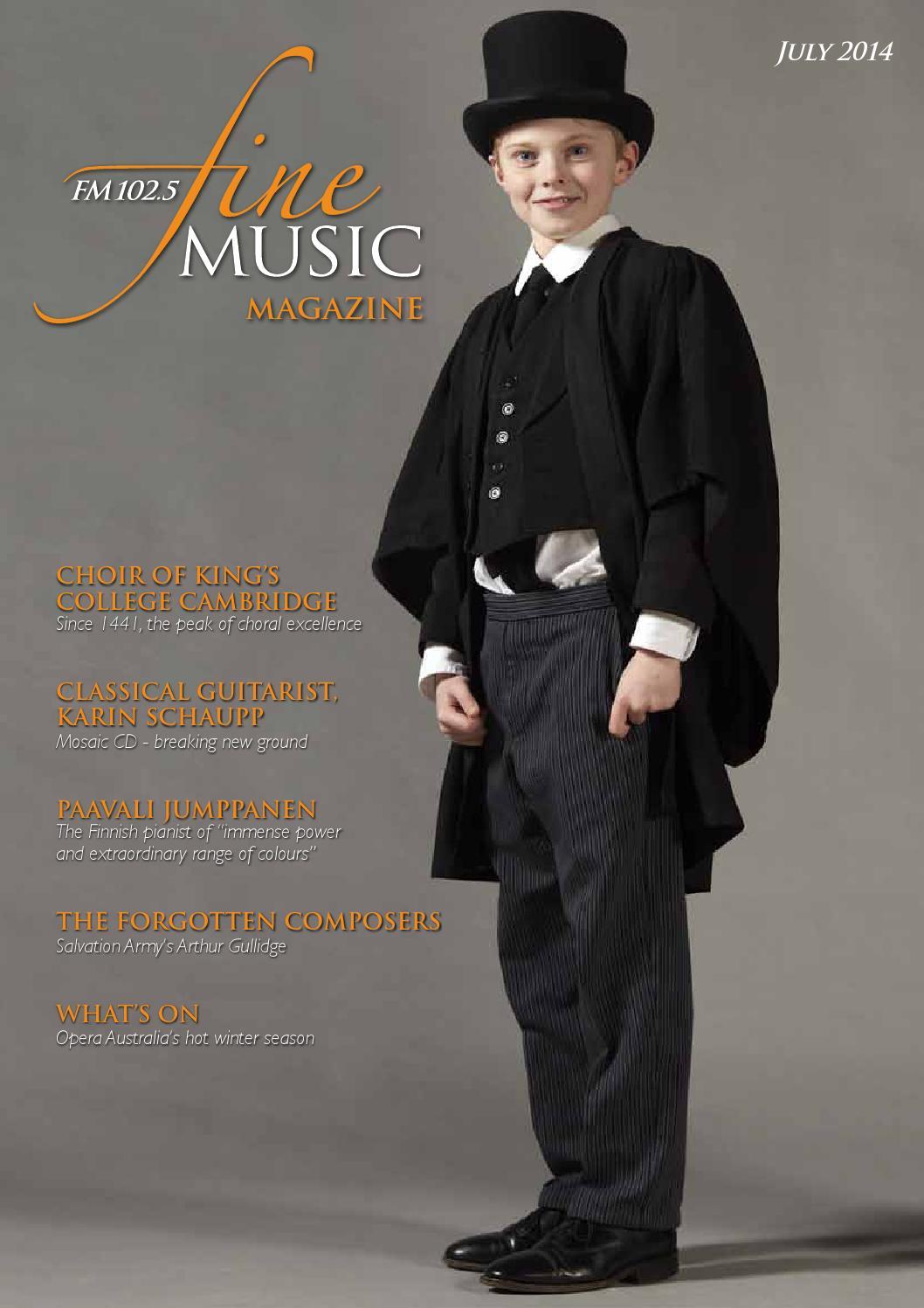 Fine Music Magazine July 2014 by Editor - issuu