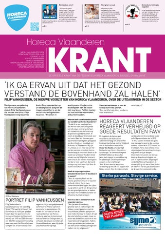 Horeca Krant N 58 Juli Aug 2014 By Elma Multimedia Issuu