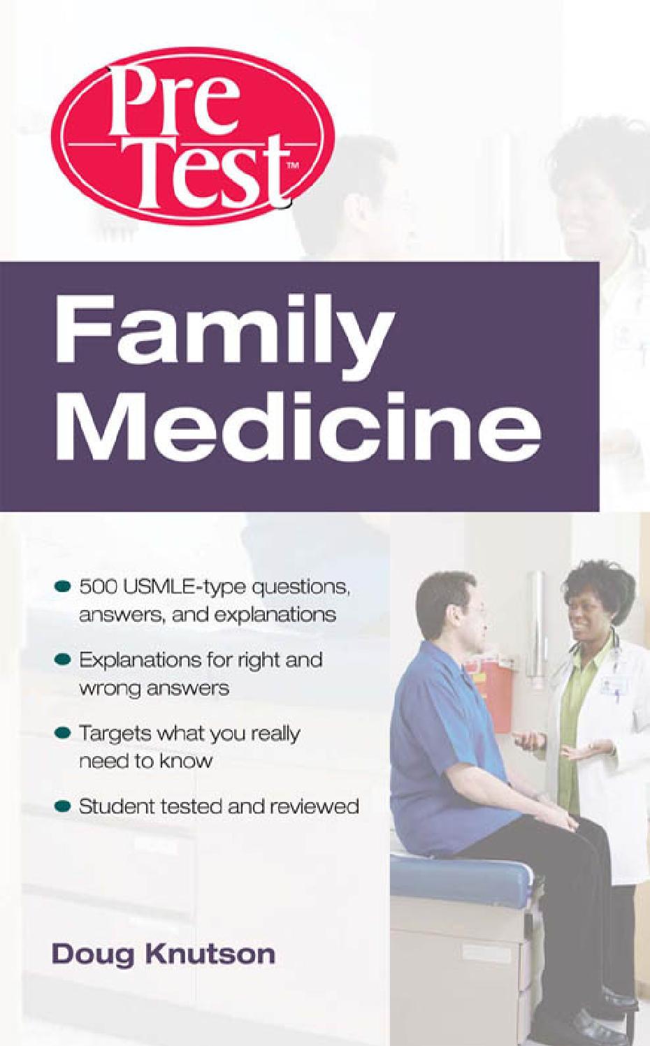 Pretest family medicine by EbooksforLife - issuu