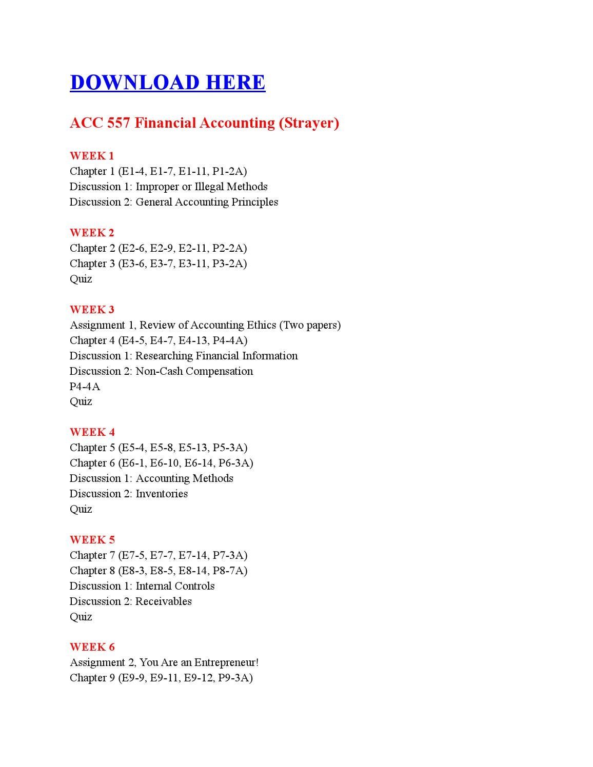 Accounting chapter 1 assignment Coursework Example - August