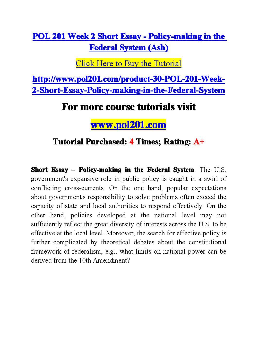 short essay policy making in the federal system Thesis auditor independence an essay on health and medicine free essays on medical technology esl expository essay ghostwriter sites us spencer foundation.