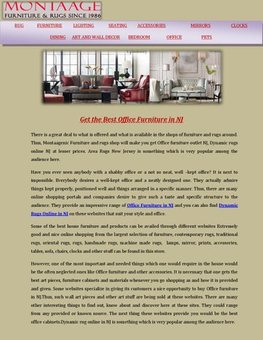 Get The Best Office Furniture In Nj By Montaage   Issuu