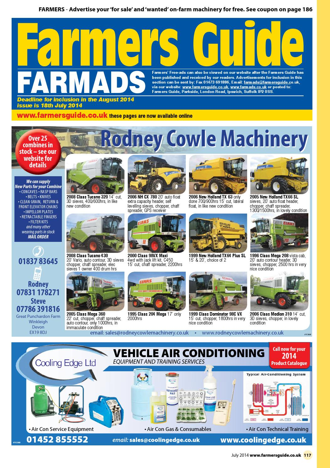 Farmers Guide classified section - July 2014 by Farmers Guide - issuu