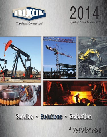Dixon Valve catalog PDF 2014 section 1 of 2 by Murdock Industrial