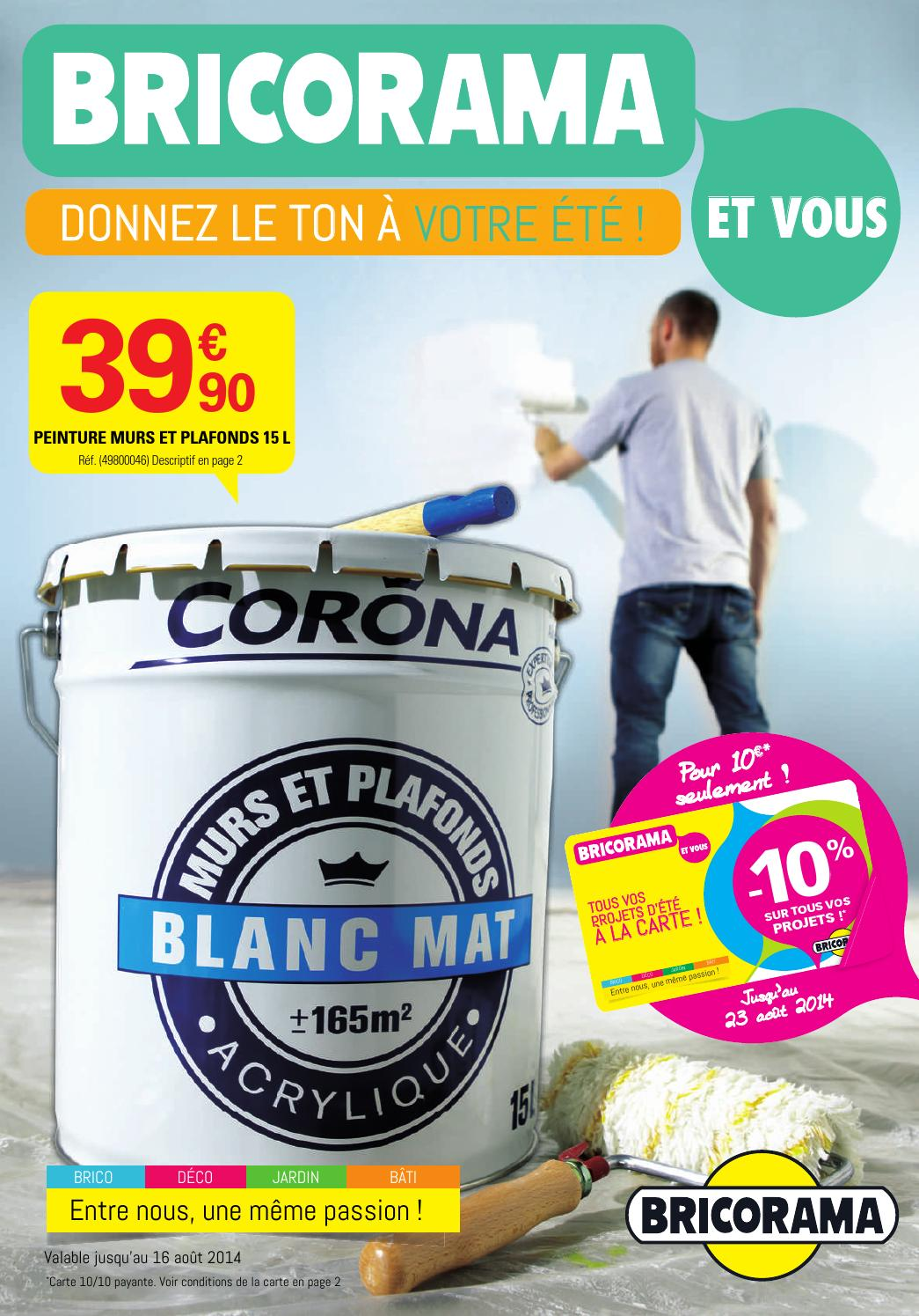 Bricorama Catalogue 1juillet 16aout2014 By Promocatalogues