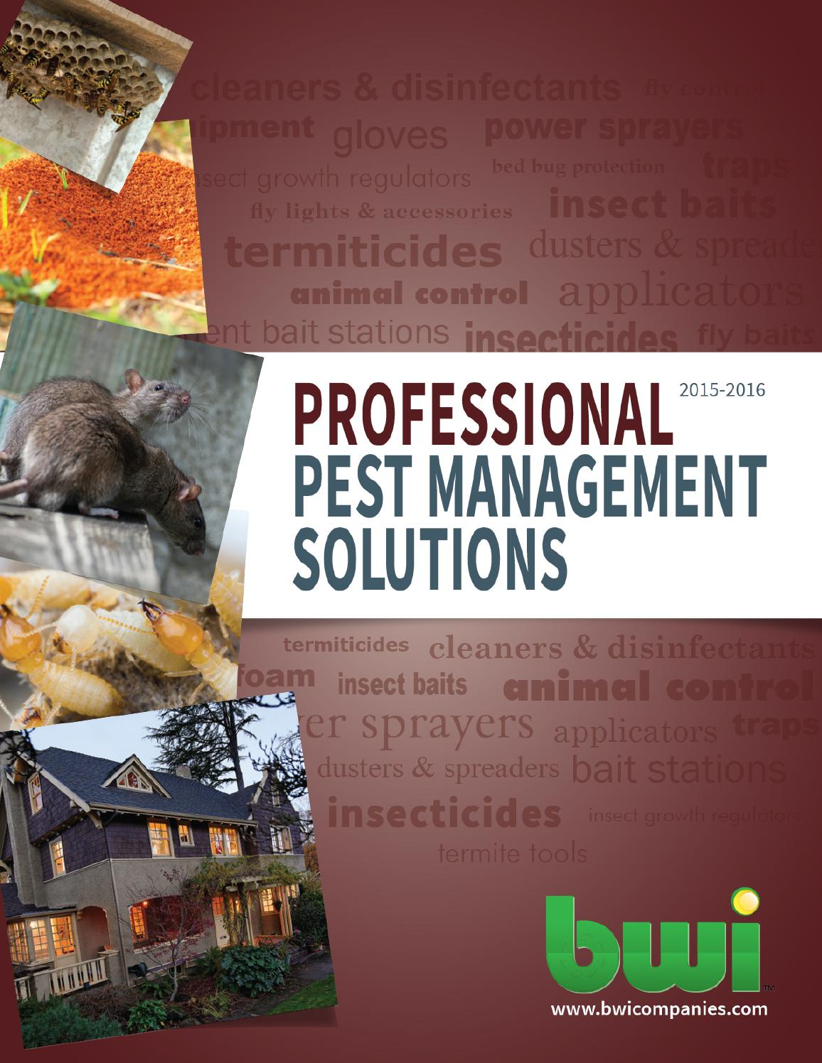 Bwi Professional Pest Management Solutions