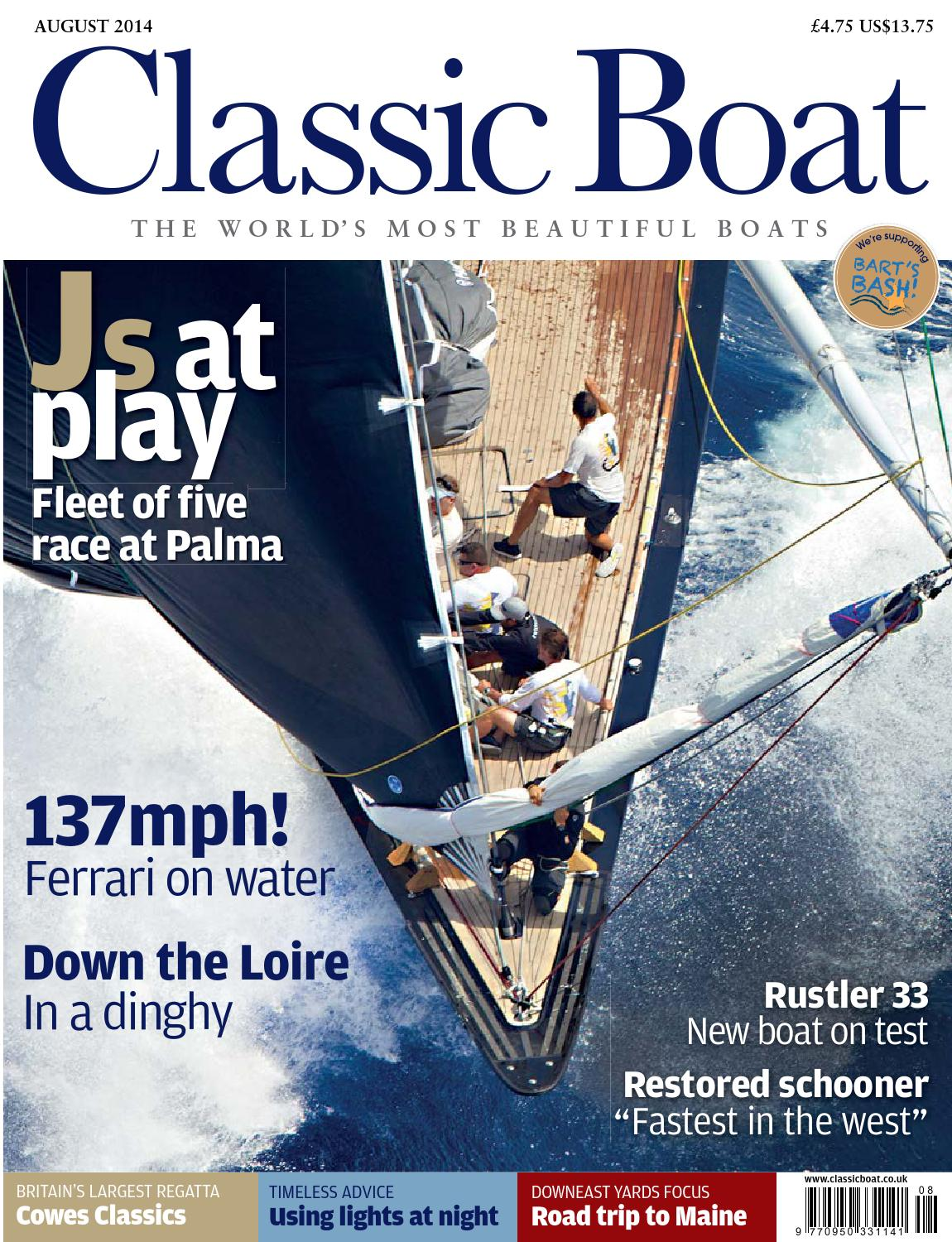 Classic Boat August 2014 by The Chelsea Magazine Company - issuu 52c2e99b9