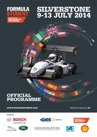 Formula Student 2014 Event Guide by The Chelsea Magazine Company - issuu