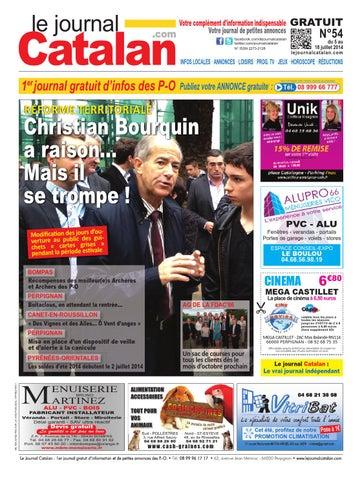 le journal catalan n 54 premier journal gratuit d 39 informations et de petites annonces des po by. Black Bedroom Furniture Sets. Home Design Ideas