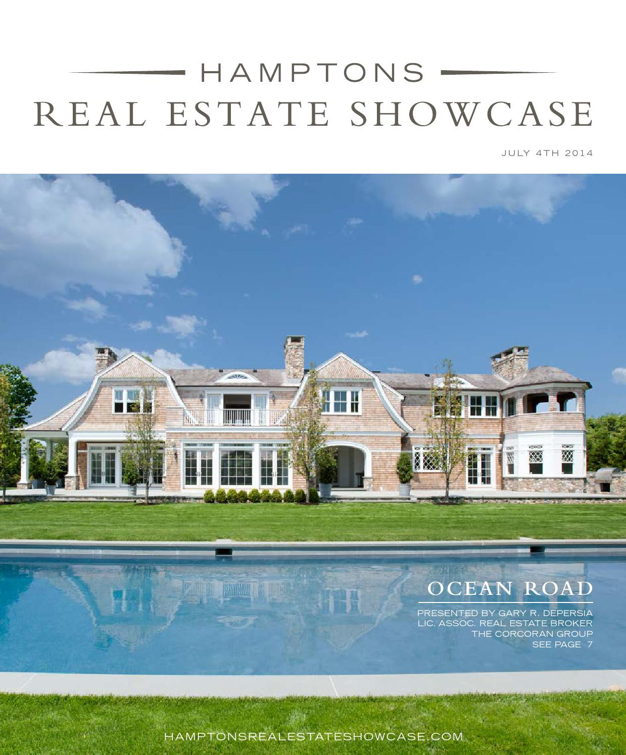 Hamptons Real Estate Showcase - July 4th Issue by M3 Media Group - issuu