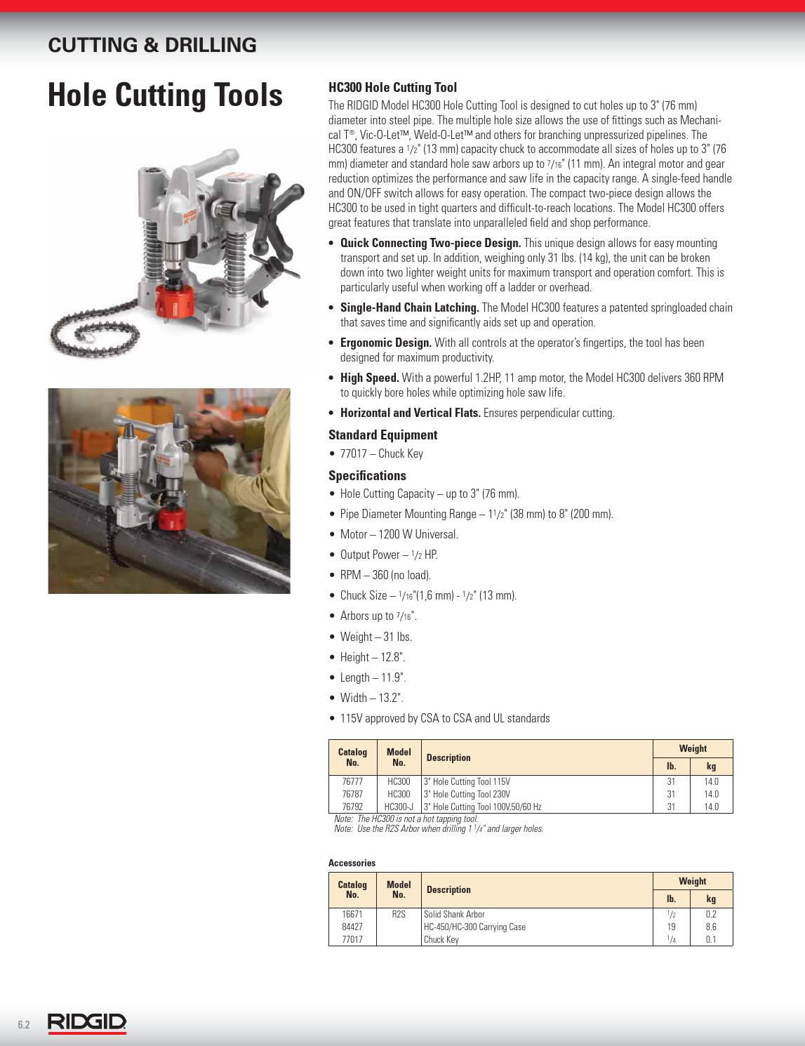 2013 RIDGID Catalog