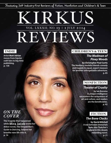 3c11cf5ae9701 July 01, 2014: Volume LXXXII, No 13 by Kirkus Reviews - issuu