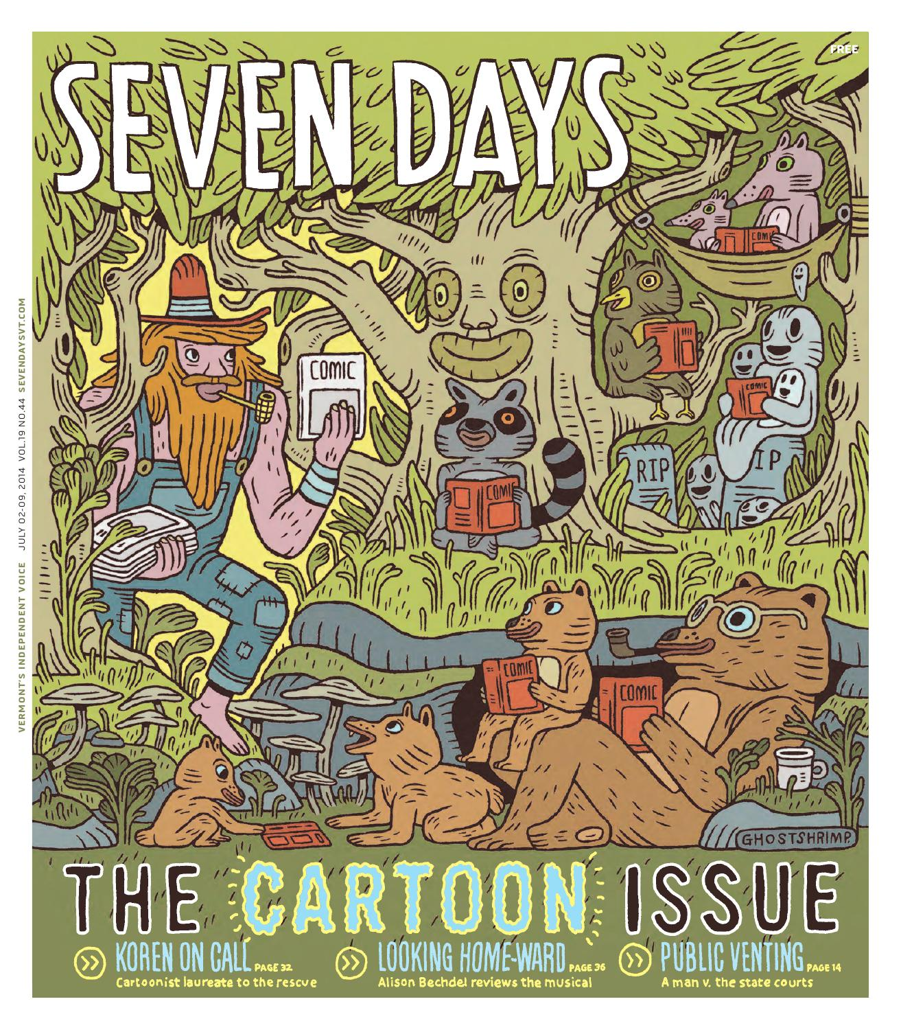 Seven Days July 2 2014 By