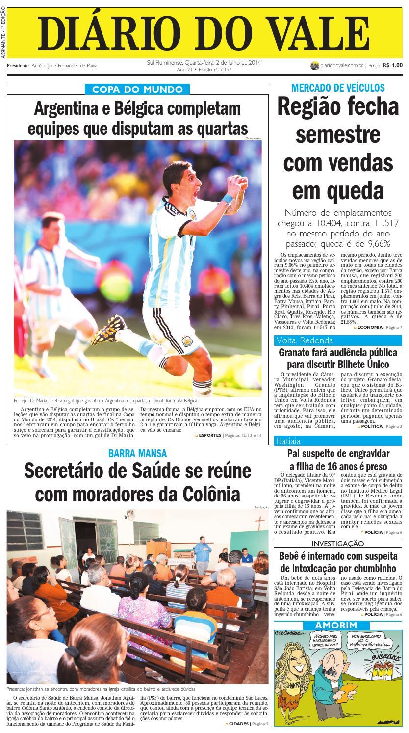 1d9bb349ed 7352 diario quarta feira 02 07 2014 by Diário do Vale - issuu