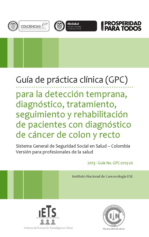 Guía de práctica clínica-Pacientes con diagnostico de