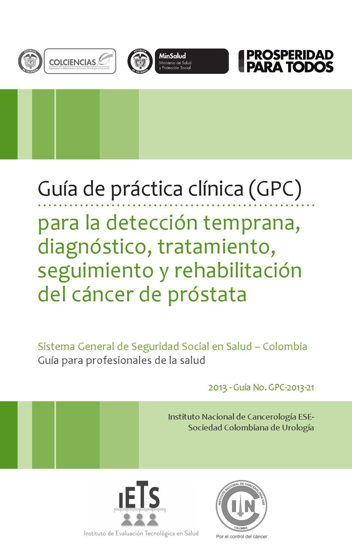 va programa de evaluación de discapacidad para la vigilancia activa del cáncer de próstata