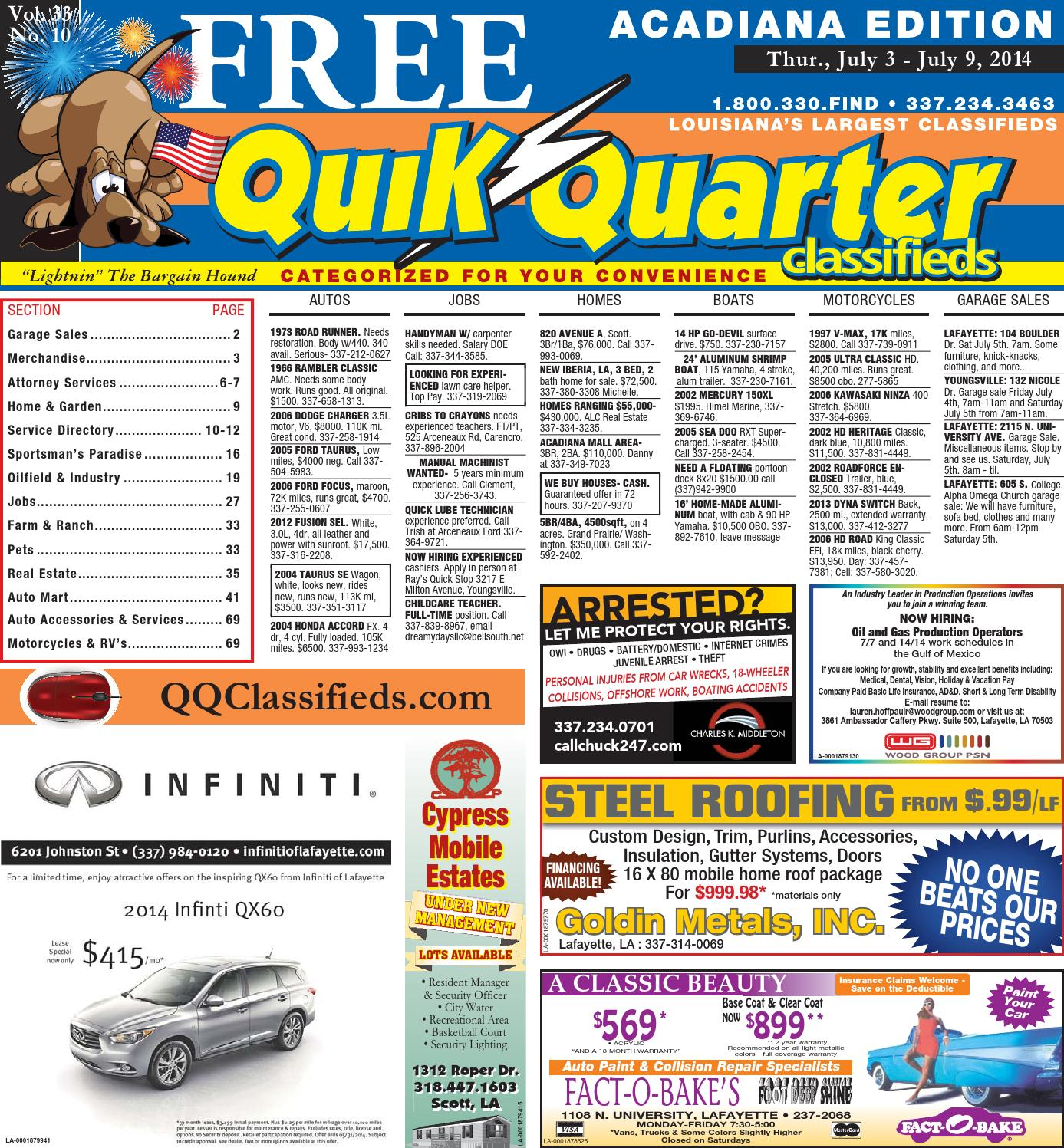QQAcadiana-07.03.2014 by Part of the USA TODAY NETWORK - issuu bb8470fd4fea