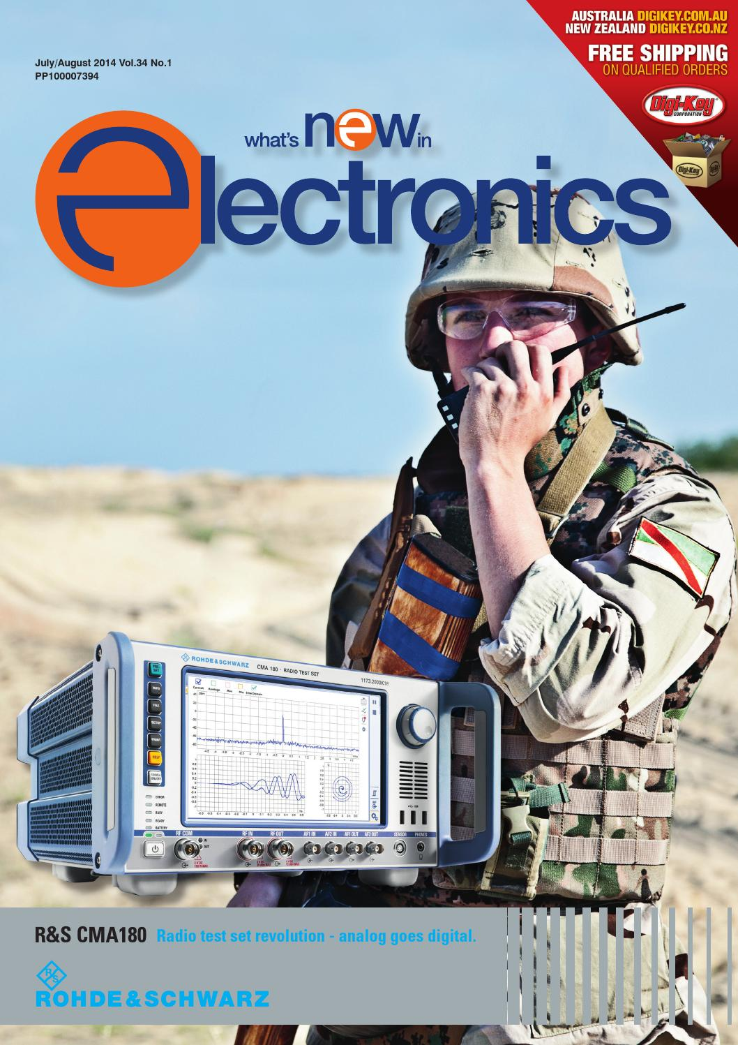 Whats New In Electronics Jul Aug 2014 By Westwick Farrow Media Issuu Triac Dimmable Pfc Buck Led Driver Eeweb Power Integrations