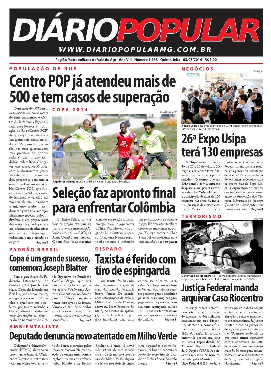 03 07 2014 by Jornal Diário Popular - issuu 934b5753d979