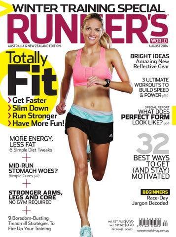 fb7a8c9442f Runner s World August 2014 by Runner s World magazine Australia ...