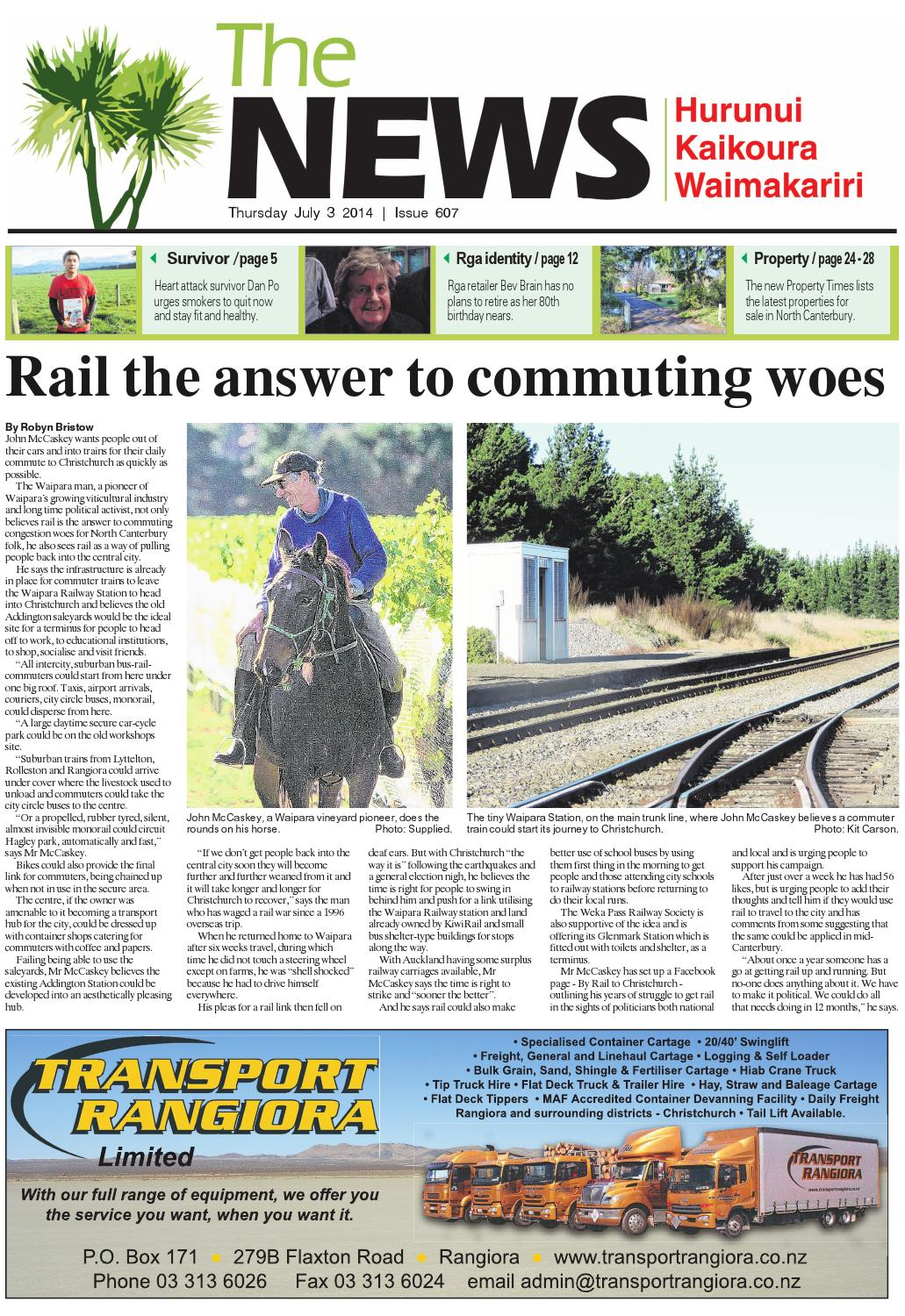 The News North Canterbury 03 07 14 By Local Newspapers Issuu About Trailer Light Isolated Power Supply Converter 5 To 4 Wire Pm32